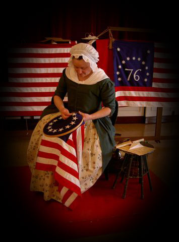 A Visit With Betsy Ross